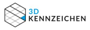 3D-Kennzeichen Gutscheine