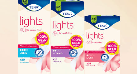 TENA Lights Cashback