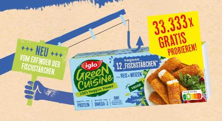 Iglo Green Cuisine Cashback