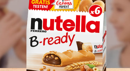 nutella B-ready Cashback